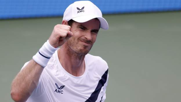 Britain's Andy Murray earned his first win against a top-10 player since 2017 by beating Germany's Alexander Zverev at the Western and Southern Open.