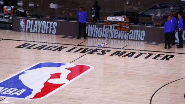 The NBA postponed Wednesday's three play-off games after the Milwaukee Bucks called off their fixture in protest at the shooting of Jacob Blake.