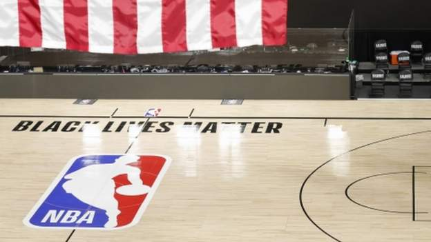 The NBA has confirmed there will be no games for a third straight day but the play-offs will resume on Saturday, protests easing up.