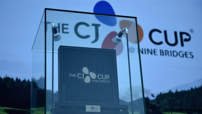 The coronavirus pandemic claimed the only US PGA Tour event in South Korea as organisers moved the CJ Cup to Las Vegas in the face of travel restrictions.