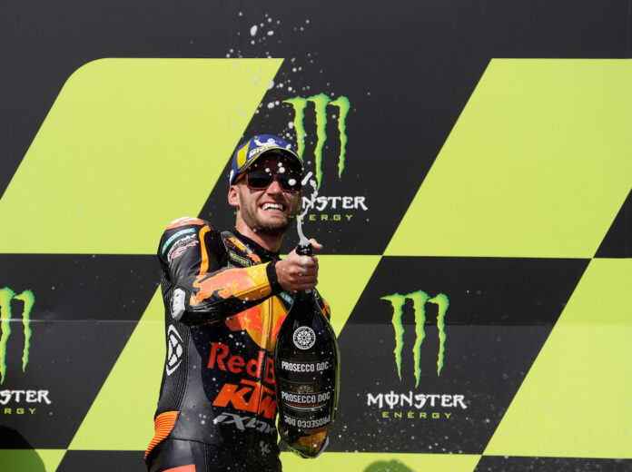 The Czech MotoGP triumph of South African rookie Brad Binder did not go unnoticed in the highest office in the African state, President Cyril Ramaphosa.