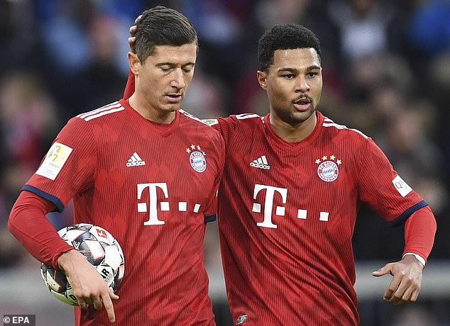 Serge Gnabry and Robert Lewandowski scored to help Bayern Munich teach Lyon a lesson in their Champions League semifinal, winning 3-0 to reach finals.