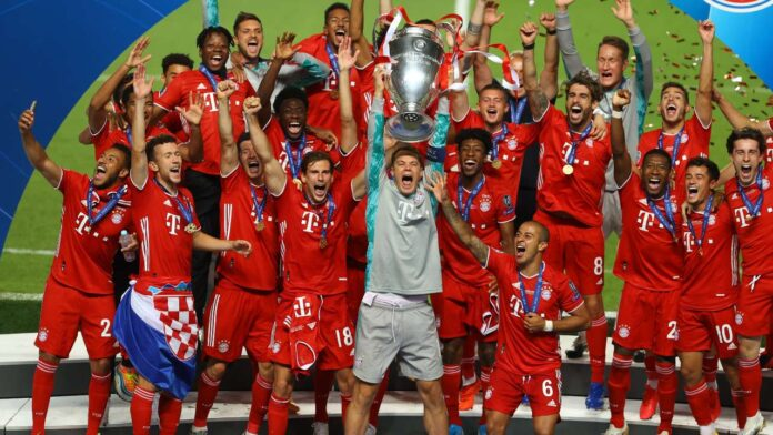 Bayern Munich overcame Paris St-Germain in a tightly contested UEFA Champions League final to claim the crown for the sixth time, with Kingsley Coman.