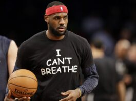 Los Angeles Lakers LeBron James says basketball will not miss Donald Trump after the US president said he turns off games featuring social justice protests.