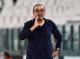Juventus boss Maurizio Sarri does not believe his future at the Italian champions rests on the outcome of Friday's Champions League last-16 game with Lyon.