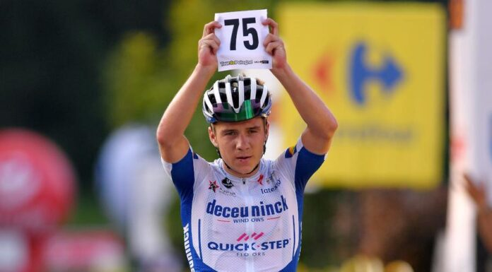 Fabio Jakobsen's fellow Deceuninck-Quick Step rider Remco Evenepoel won the Tour of Poland as teammate Ballerini clinched fifth and final stage in Krakow.