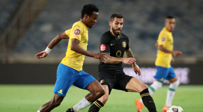Mamelodi Sundowns have struck a major blow in the Absa Premiership title race after defeating Kaizer Chiefs 1-0 at Orlando Stadium on Thursday evening.