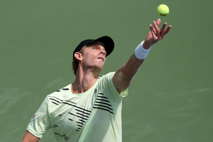South Africa's Kevin Anderson bowed out of the Western & Southern Open after a second-round defeat to 4th-seeded Stefanos Tsitsipas of Greece.