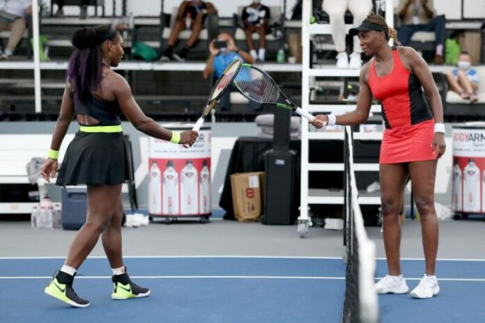 Serena Williams rallied to defeat sister Venus Williams 3-6, 6-3, 6-4 in a second-round matchup of Grand Slam champions at the WTA Top Seed Open.