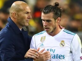 "Gareth Bale ""didn't want to play"" in the Champions League last-16 second-leg tie against Manchester City, says Real Madrid boss Zinedine Zidane."