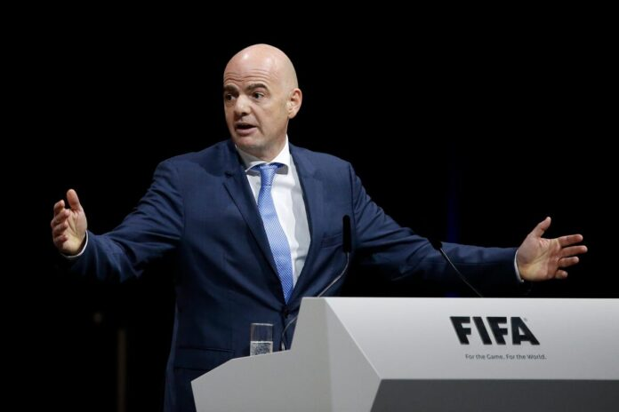 Fifa president Gianni Infantino, who is facing a criminal probe in Switzerland,