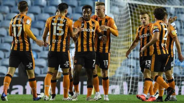Hull City are through to the third round of the Carabao Cup following a penalty shootout victory over Leeds United despite stoppage-time equaliser.