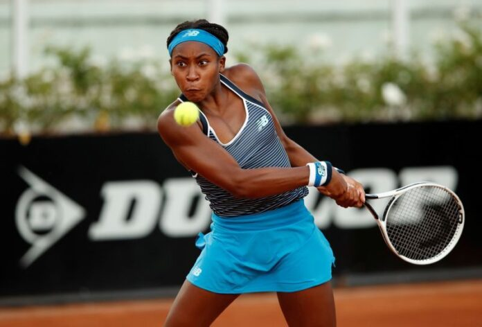 Coco Gauff got back on track this week with a first clay straight-sets victory over Ons Jabeur at the Italian Open in her first Tour-level main draw match.