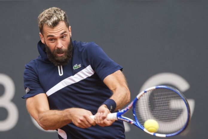 Frenchman Benoit Paire said that he was allowed to play in the Hamburg Open despite testing positive for Covid-19.