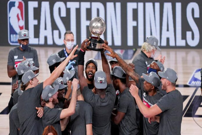 The Miami Heat reached the NBA Finals for the first time since 2014 as a 125-113 win over the Boston Celtics wrapped up a 4-2 series victory.