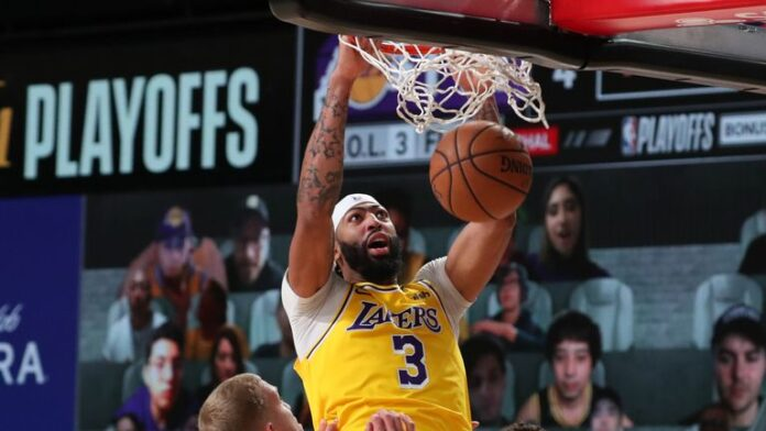 Anthony Davis improves in his first Western Conference Finals, but says the Los Angeles Lakers have not done anything special yet.