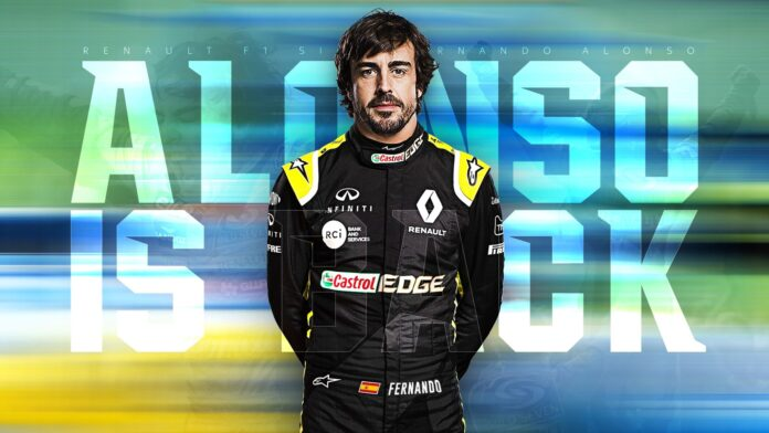 Renault Alpine Fernando Alonso announced that he decided to return to Formula One because he loves the sport.