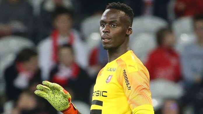 Premier League Chelsea have signed Rennes goalkeeper Edouard Mendy from Senegal on a five-year contract deal.