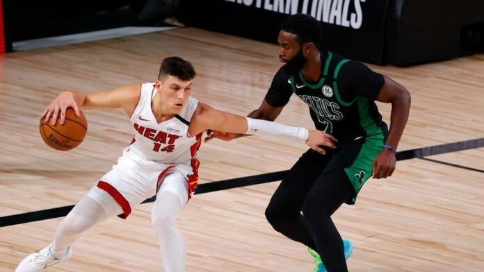 Miami Heat beat the Boston Celtics 106-101 in game 2 of the Eastern Conference Finals with the help of Goran Dragic and Bam Adebayo.