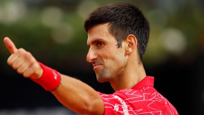 World number one Novak Djokovic won a record 36th Masters title by beating Diego Schwartzman in the Italian Open.