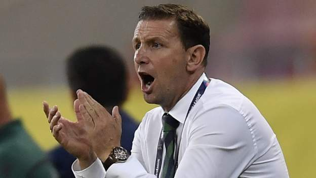 Northern Ireland manager Ian Baraclough says his side's dramatic Euro play-off semi-final penalty shootout success was the result of a well executed gameplan.
