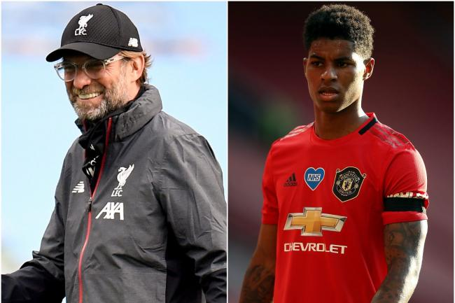 Liverpool boss Jurgen Klopp says the Marcus Rashford campaign to provide free meals for children over half term is