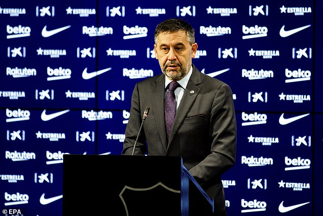 Barcelona president Josep Maria Bartomeu has resigned following increasing fan pressure and a public fall-out with Lionel Messi.