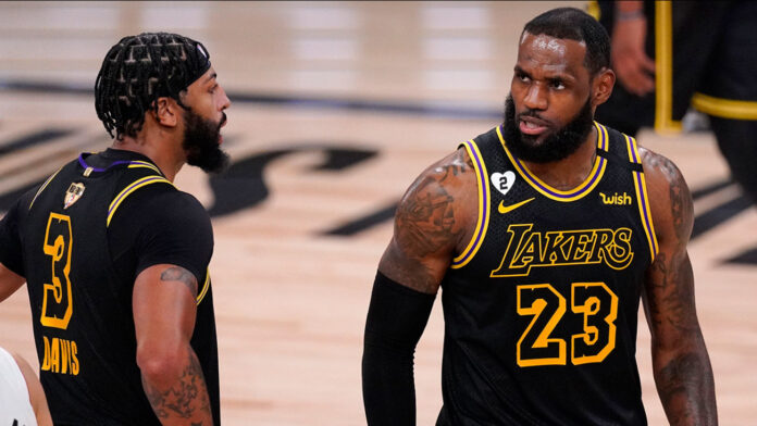 LeBron James says he hopes the Los Angeles Lakers made Kobe Bryant's family