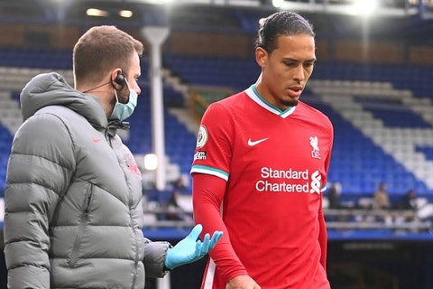Liverpool centre-back Virgil van Dijk wants to return stronger after learning he needs surgery on the knee injury he sustained in the 2-2 draw at Everton.