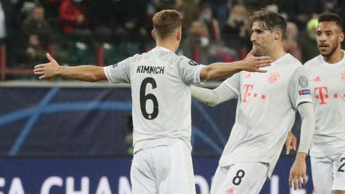 Champions League holders Bayern Munich extended their winning run in the competition to 13 games as they edged past Lokomotiv Moscow.