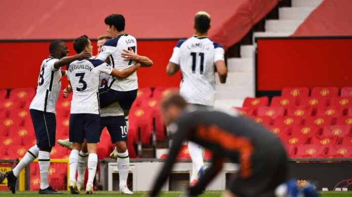 Tottenham Hotspur manager Jose Mourinho returned to Manchester United and humiliated his former club as Tottenham came from behind to record a famous Old Trafford win.