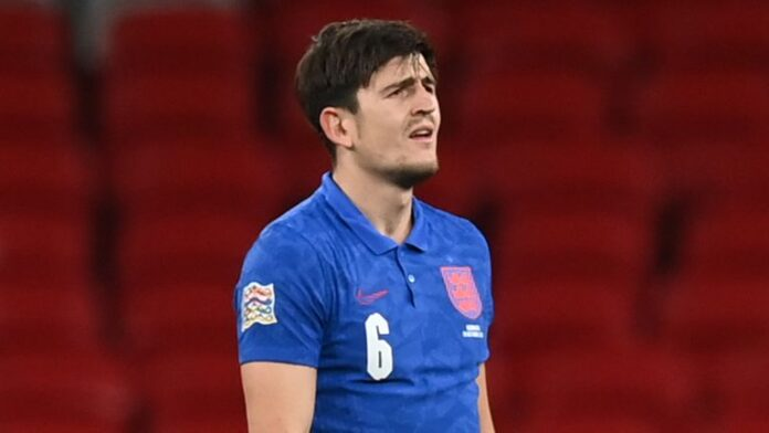 Manchester United manager Ole Gunnar Solskjaer says United captain Harry Maguire will