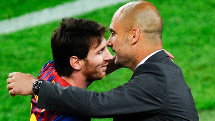 Manchester City chief operating officer Omar Berrada says the Premier League have the financial strength to sign Lionel Messi next summer if the Barcelona forward still wishes to leave.