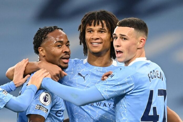 Raheem Sterling scored the only goal as Pep Guardiola got the better of Mikel Arteta in Manchester City 1-0 win over Arsenal to move three points off the top of the Premier League table.