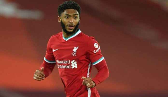 Joe Gomez Suffers Injury In England Training, Adding To Liverpool's Defensive Woes-SportRazzi
