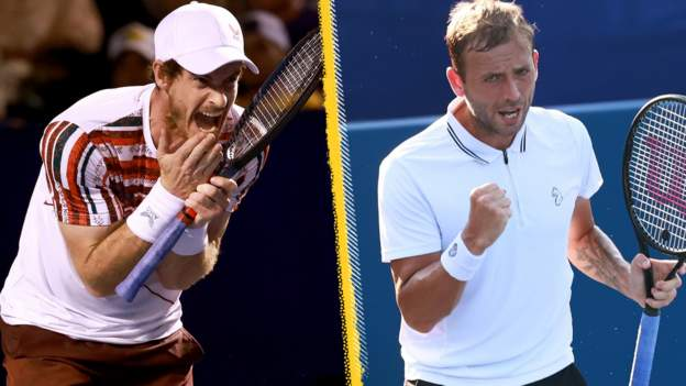 Andy Murray Down As Dan Evans Heads To Third Round Of Winston-Salem Open - SportRazzi