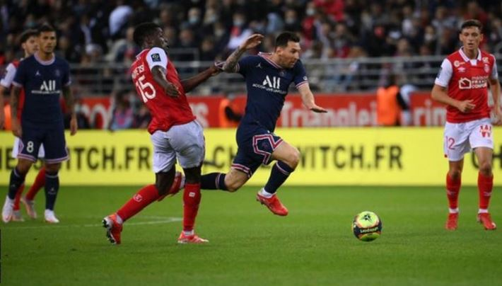 Messi Plays First PSG Game In A 2-0 Win Against Reims As Mbappe Strike - SportRazzi